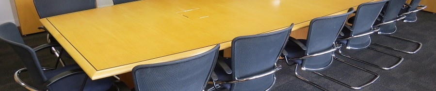 Adding Plug Sockets To A Boardroom Table