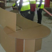 Reception desk mock-up