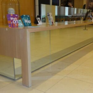 large reception desk
