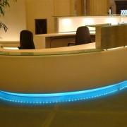 custom reception desks