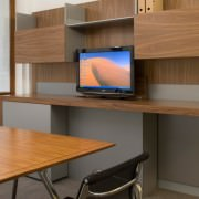 desk and workwall