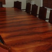 conference tables in mahogany