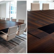 boardroom tables with cable management