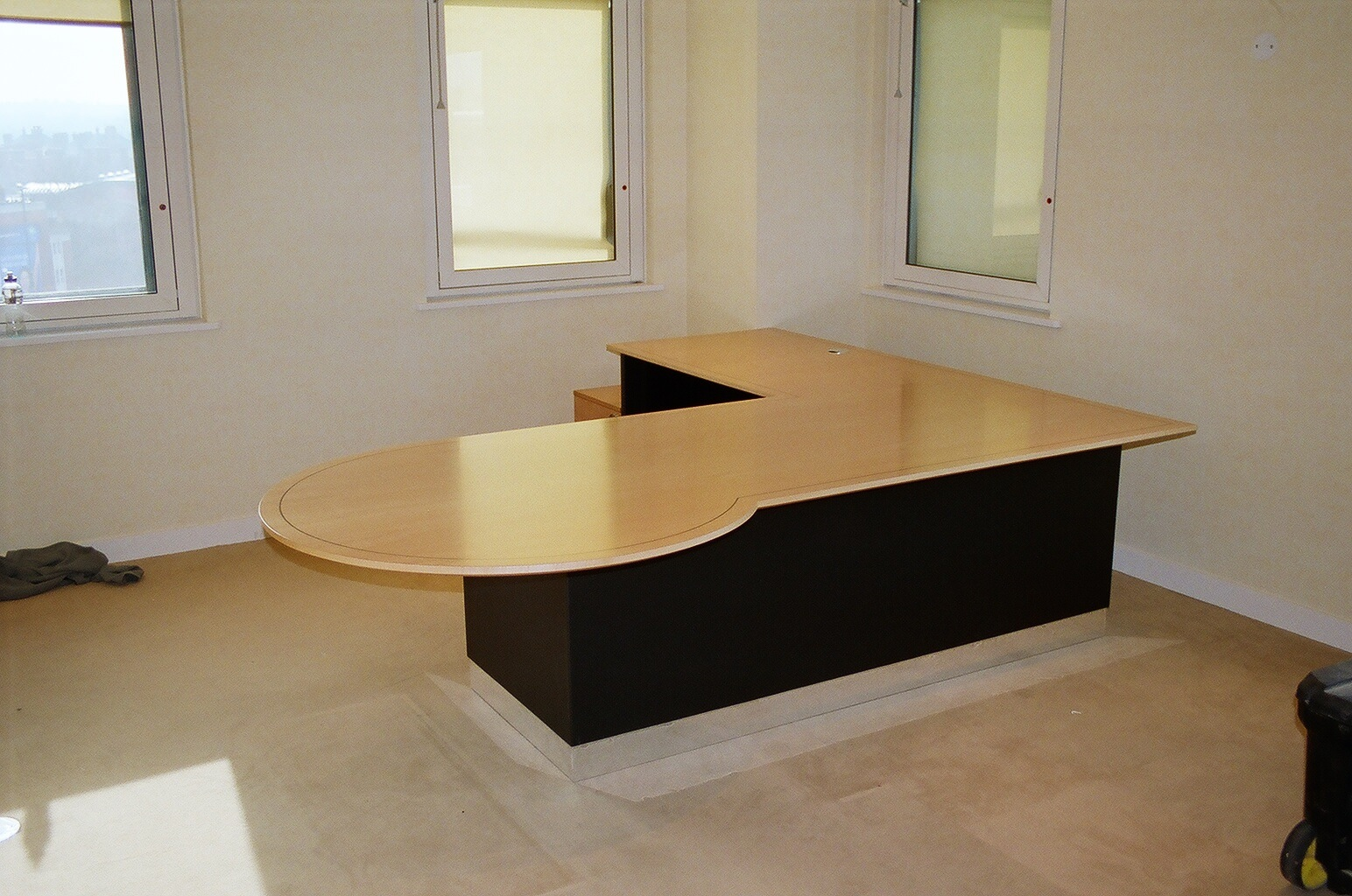 Exec Desk Modesty Panels