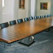 corporate boardroom table
