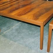 mahogany modular table