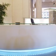 curved-white-reception-desk