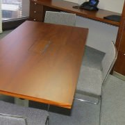 flip top cable managed meeting table