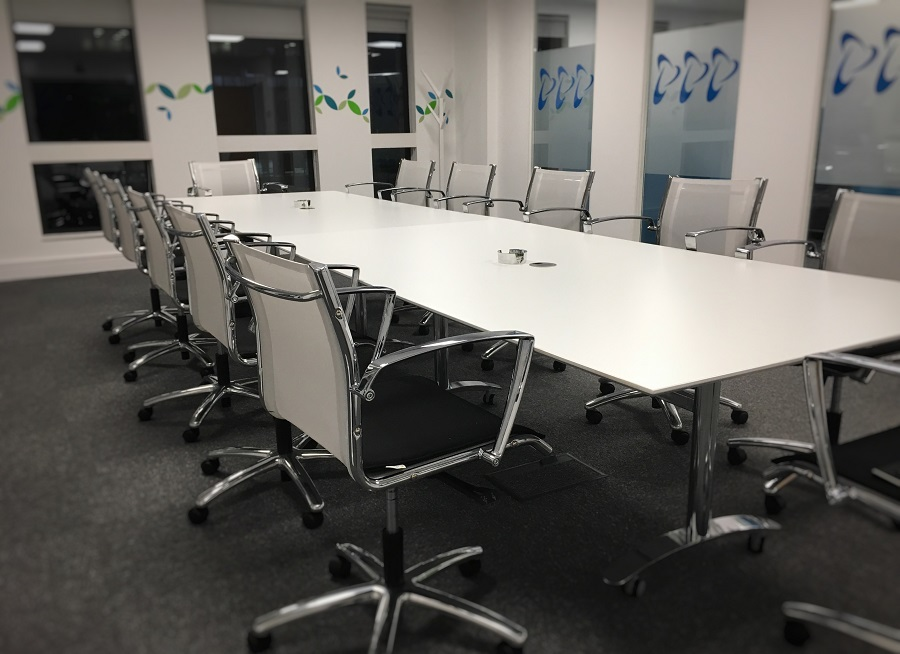 Conference Tables With Wheels Fusion Executive Furniture - 12 person conference table