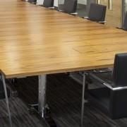flip-top modular boardroom tables