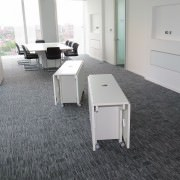 flexible boardroom tables white
