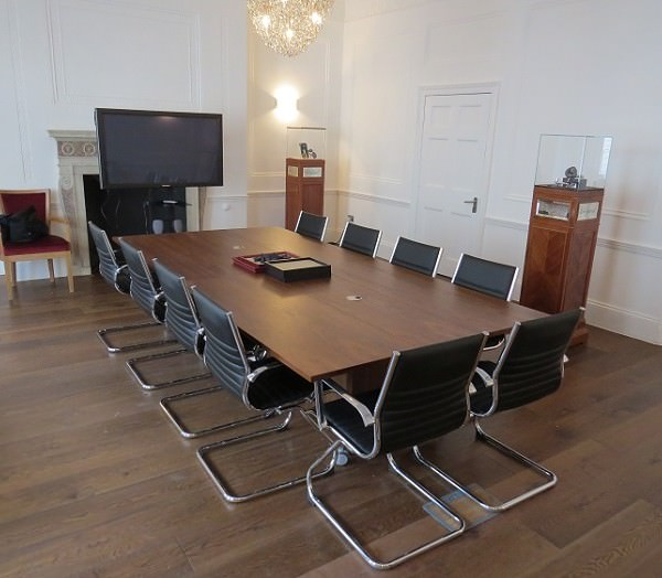Folding Conference Table Set