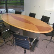 inlayed executive meeting table