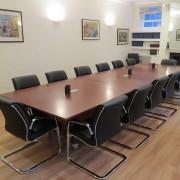 mahogany folding conference tables