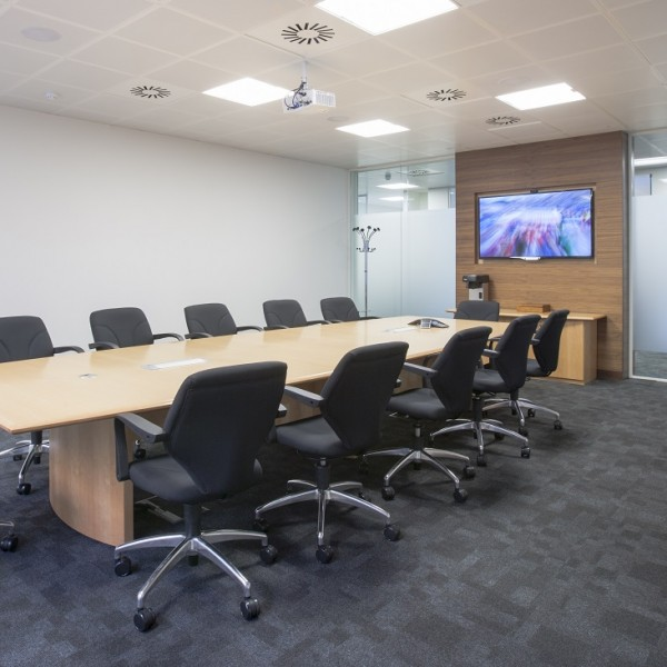 Boardroom Tables Conference Tables Fusion Executive Office Furniture - 12 seater conference table