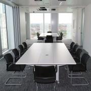 White Boardroom Furniture