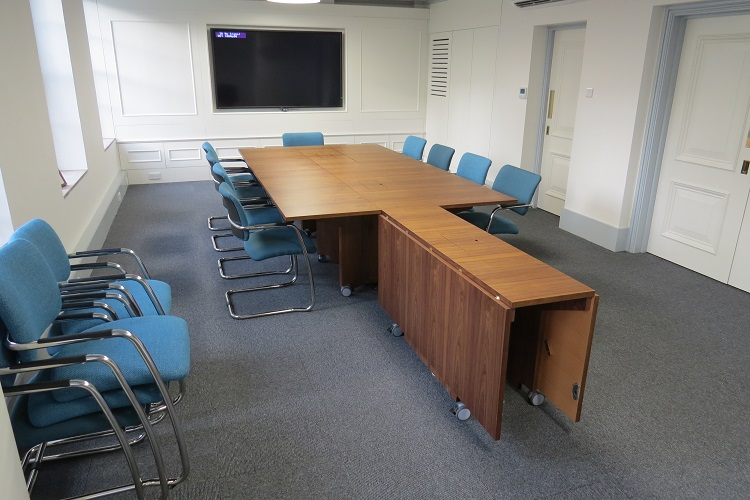 multi purpose reconfigurable conference tables